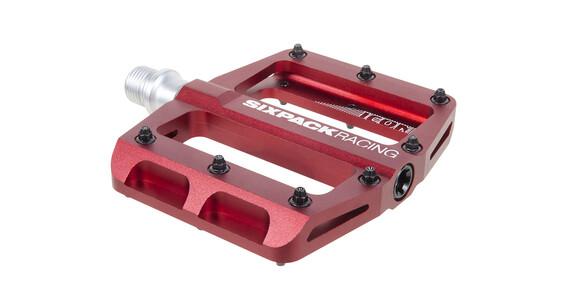 Sixpack Icon mini - Pédales - rouge